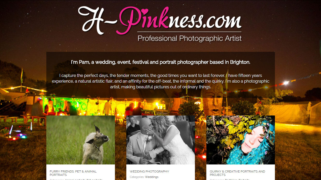H-Pinkness Photographic Artist